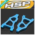 HSP 166019 (06040B) Aluminum Front Lower Arm AL 1/10th 4WD R/C Upgrade Parts