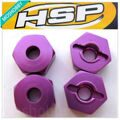 HSP 102042 Wheel Hex Upgrade Spare Parts For 1/10 R/C Model Car