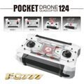 FQ777-124 Pocket Drone 4CH 6Axis Gyro Quadcopter With Switchable Controller RTF UAV mini drone
