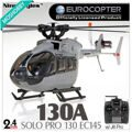 Nine Eagles Solo Pro 130A EC145 2.4G 6-CH RTF Small RC Helicopter