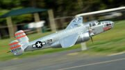 FMS 1400MM / 1.4M Gaint Warbird B-25 / B25 Mitchell Silver Newest version PNP Big Scale RC MODEL PLANE
