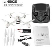 Hubsan X4 H502S RC Drone with Camera 720P HD 5.8G FPV GPS Altitude RC Quadcopter One Key Return Headless Mode
