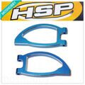 HSP 188018 (08036B)Spare Parts 1/10 R/C Model Car Alum.Front Upper Arm 2PCS