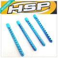 HSP 122037 Aluminum Alloy Body Post 4PCS for 1/10 Car Model