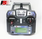 flysky FS-i6 2.4G 6 channel Transmitter & iA6/ iA6B Receiver  with LCD