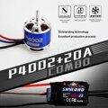 TOMCAT TMC-009 TC-P-2812 940KV 13T Motor & Skylord 20A Brushless ESC with 5V/2A BEC for RC Airplane