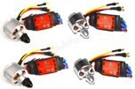 4x 2212 920KV Brushless Motor (CW / CCW) + 4x SIMONK 30A ESC For DJI Phantom