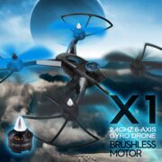 JJRC X1 Drone With D1806-2280KV Brushless Motor 2.4G 4CH 6-Axis RC Quadcopter RTF