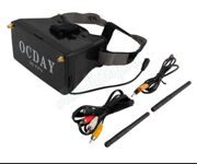 OCDAY 5 inch Display FPV Video Glasses 3D Goggles Dual 5.8G 32CH Receiver
