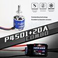TOMCAT TMC-010 TC-P-2816 940KV 10T Motor & Skylord 20A Brushless ESC with 5V/2A BEC for RC Airplane