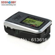 GPS Speed Meter/ Tester with Quick Positioning, Recording Speed and Altitude Function for RC Car, Plane