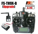 flysky   FS-TH9X-B Upgrade  2.4G 9CH Transmitter & R9B Receiver with LCD