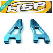 HSP 122018 Aluminum Alloy Front Upeer Suspension Arms  Parts For 1/10 RC Car 02140B
