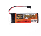 ZOP POWER 2000mah 3.7v 8c for WFLY 6CH/7CH Transmitter