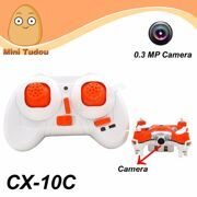 Cheerson CX-10C Mini Quadrocopter 2.4G With 0.3MP Camera