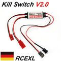 Rcexl Opto Gas Engine Kill Switch V2.0 for DLE20/DLE30/DLE55 Gas Engine