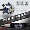 TOMCAT TMC-008 TC-P-3510 1080KV 11T Motor & Skylord 40A Brushless ESC with 5V/3A UBEC for RC Airplane