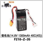Walkera F210 RC Helicopter Quadcopter spare parts F210-Z-35 lithium battery 14.8v