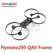Flymoto295 Mini Racing Quadcopter Flying Moto 288mm 4-Axle Frame Kit with PCB Center Board QAV Frame for FPV