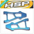 HSP 188019 Aluminum Front Lower Arm For 1/10 R/C Car Model 08037 Upgrade Parts