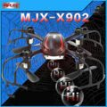 MJX X902 Nano Spider RC Quadcopter with G-sensor controller 2.4G Remote Control Helicopter 6 Axis RTF RC mini drone