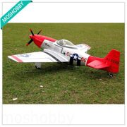 Самолет P-51 Mustang Red Tail 1200mm Warbird (PNP)